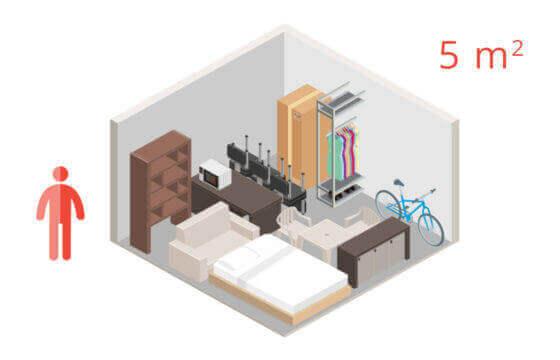 Sejfboksy pomieszczenie 5 metrów