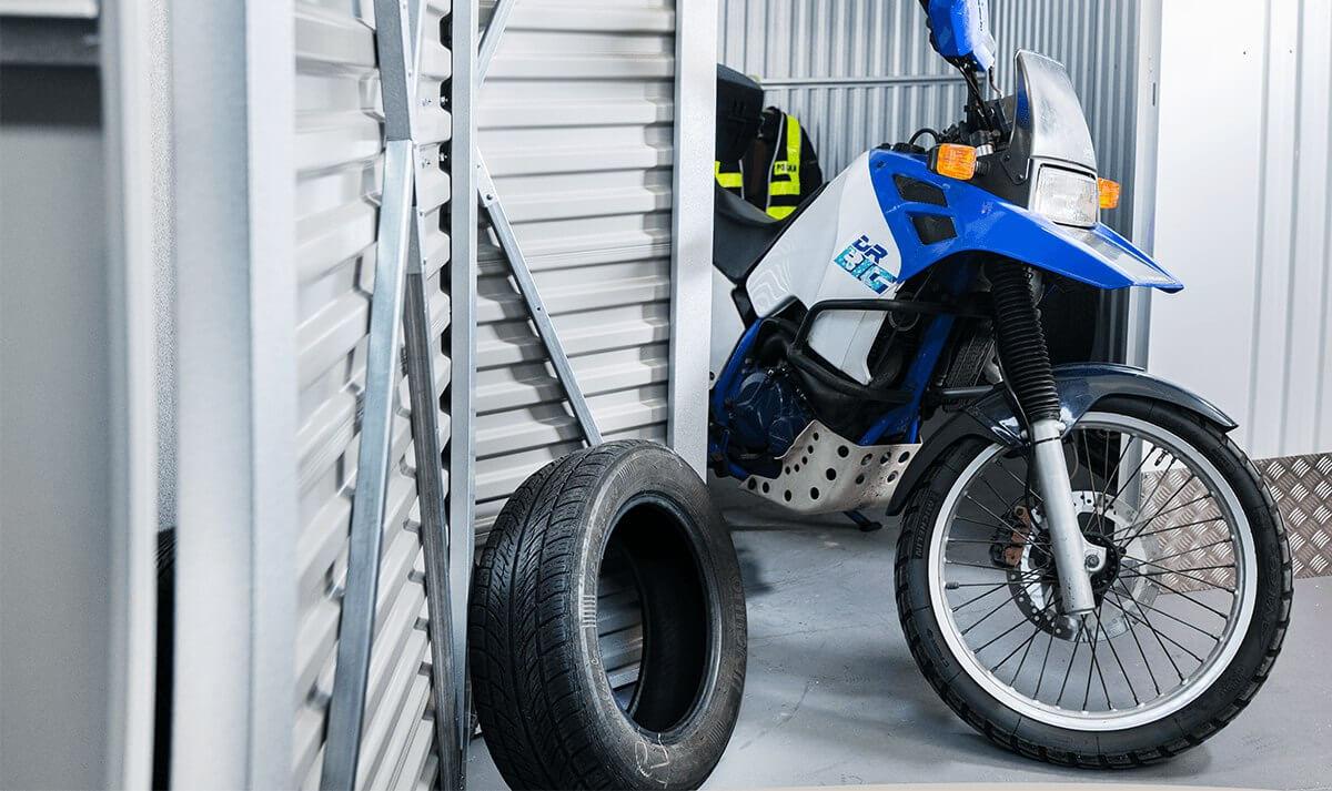 Magazyn na motocykl