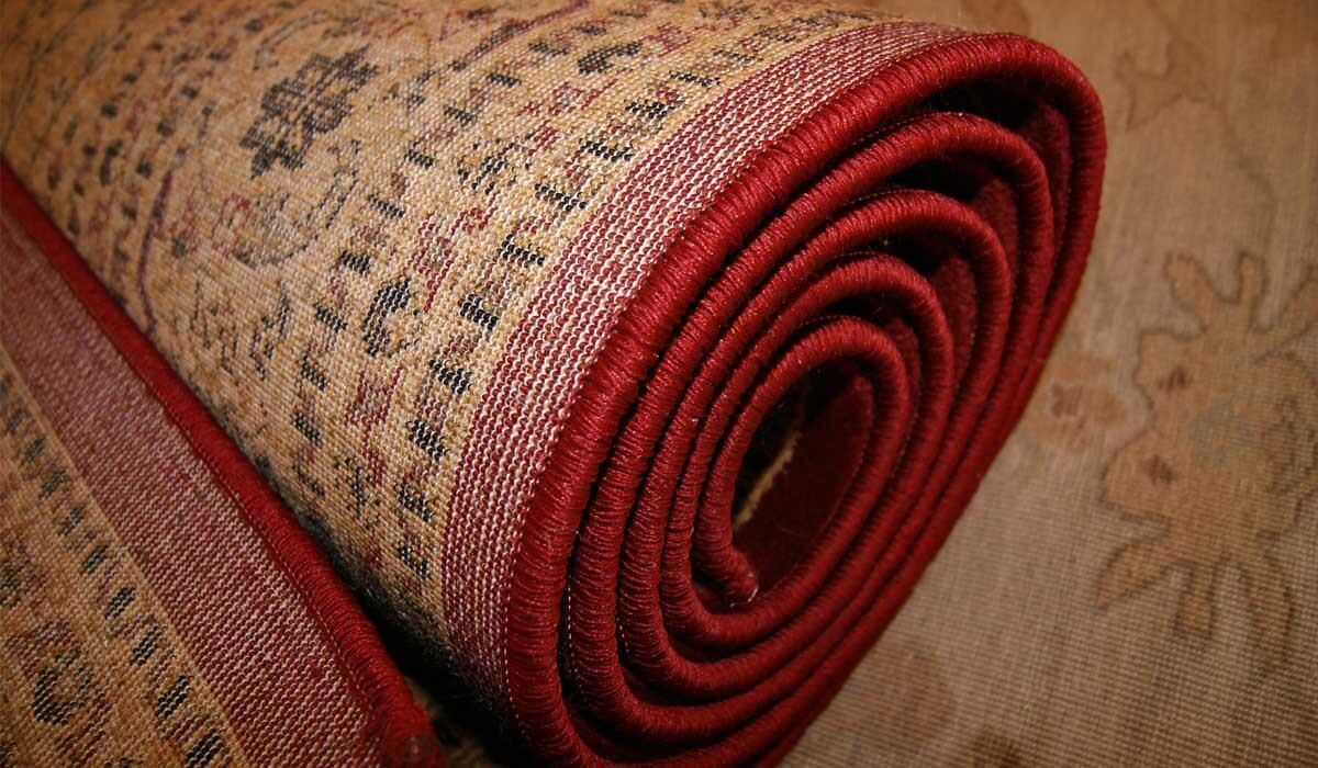 Przechowywanie dywanów